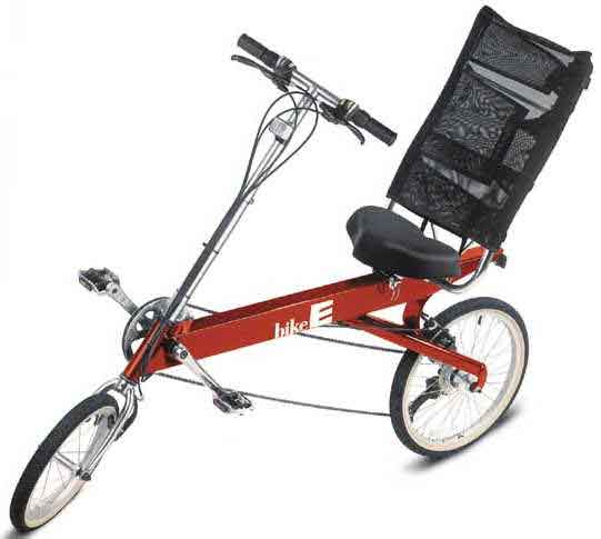 A recumbent bicycle from Bike-E