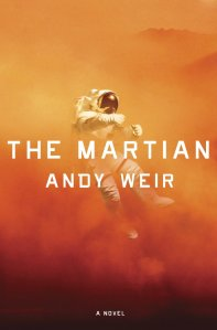 "Cover of hardback edition of ""The Martian"""