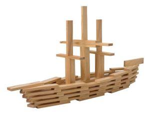 kapla block ship