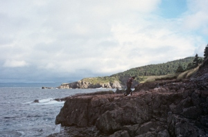 1996-9-9; Newfoundland, Fortune Bay; view of cliffs 18870069