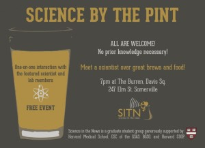 Science by the Pint poster