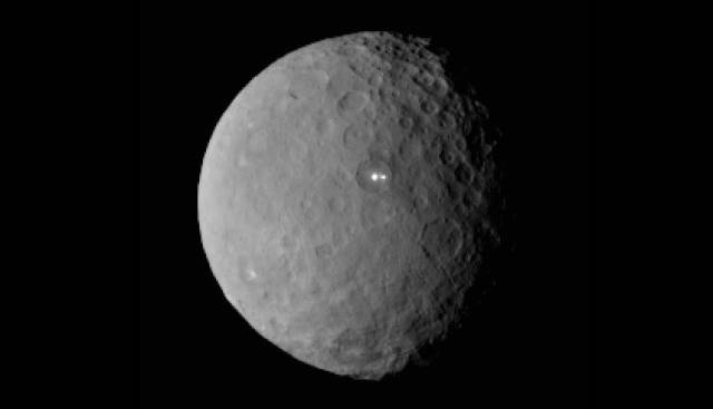 Ceres from the NASA probe Dawn, 2/19/2015