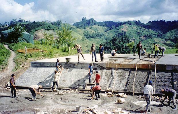 Bocay Hydropower dam, 1994