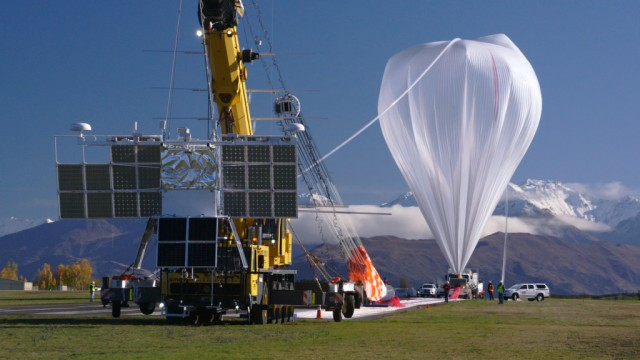 NASA Super-Pressure Balloon launched 5/17/16 from New Zealand, with COSI telescope. Click for blog