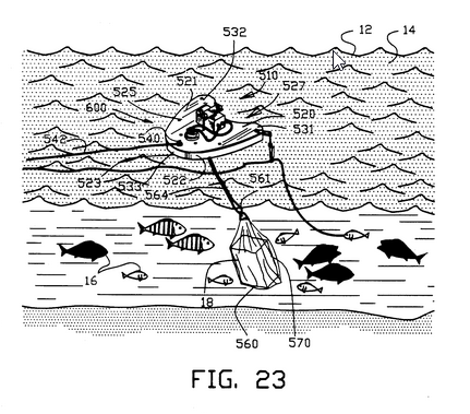 US5235774 - Enhanced fish attractor device - Gary Burghoff