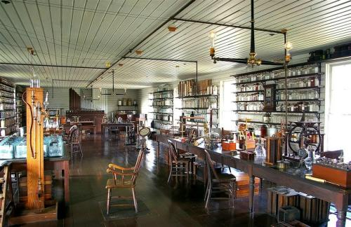Recreation of Edison's Lab in Menlo Park