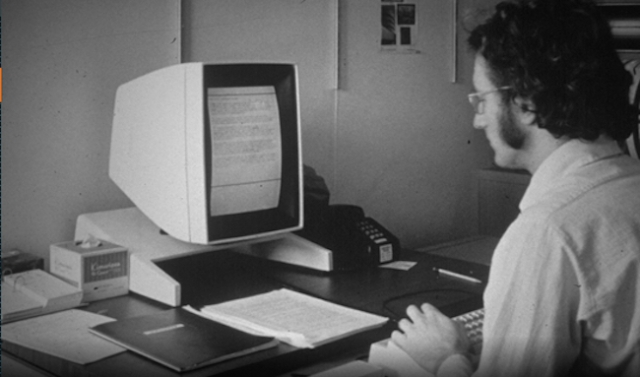 Xerox Alto workstation, 1973
